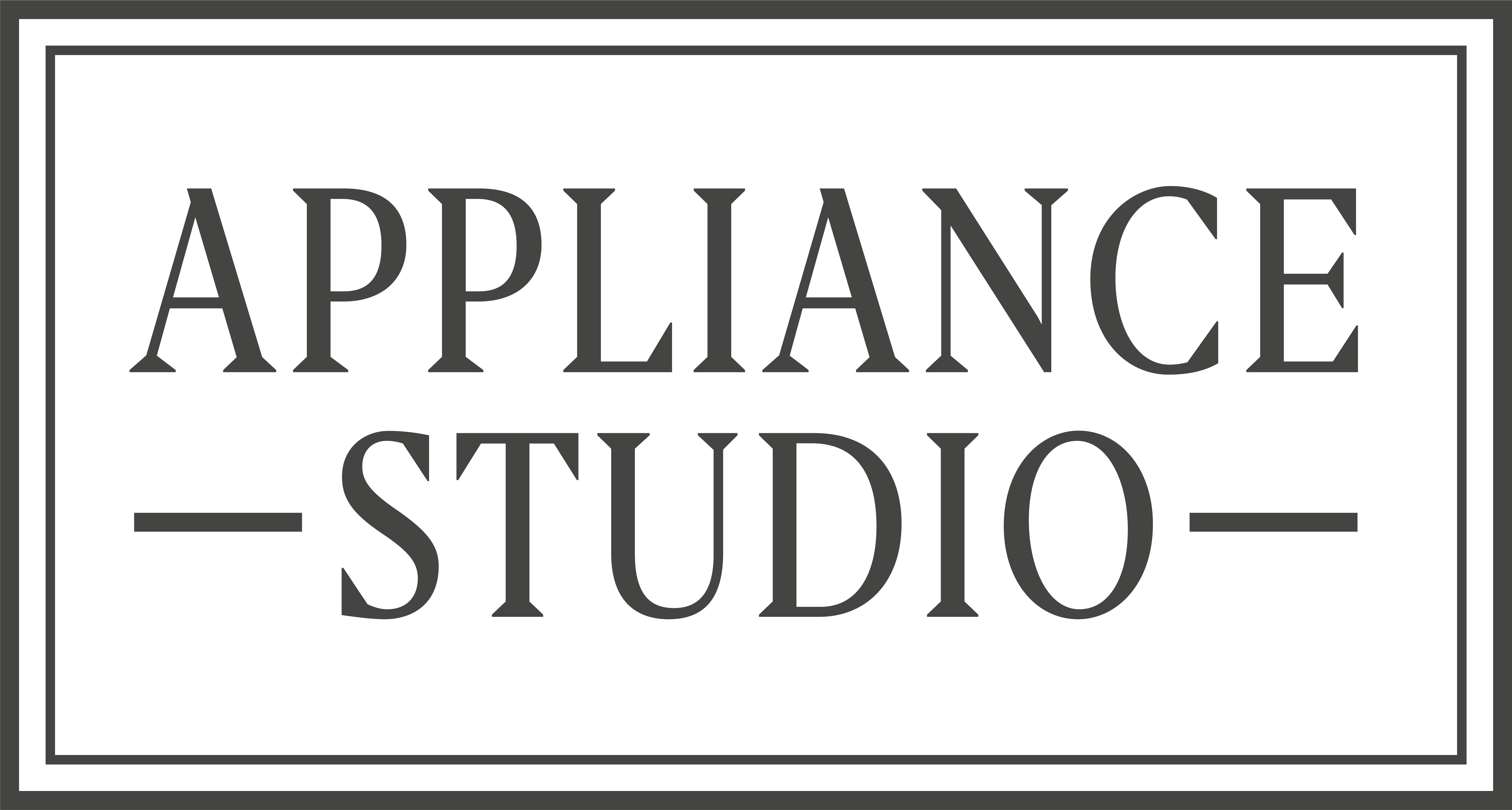 APPLIANCE STUDIO